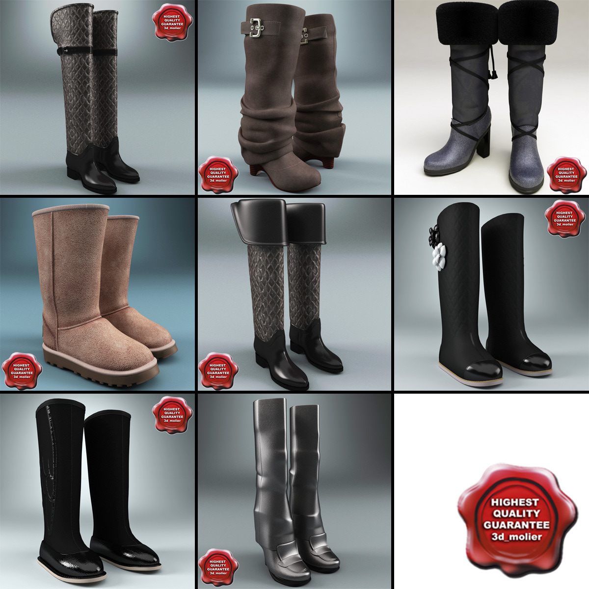 Winter Shoes Collection V3