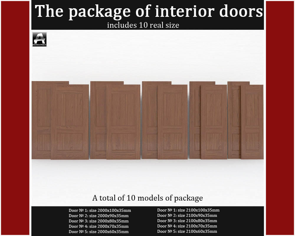 The package of classic interior doors(1)