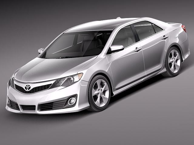3ds max toyota camry usa 2012