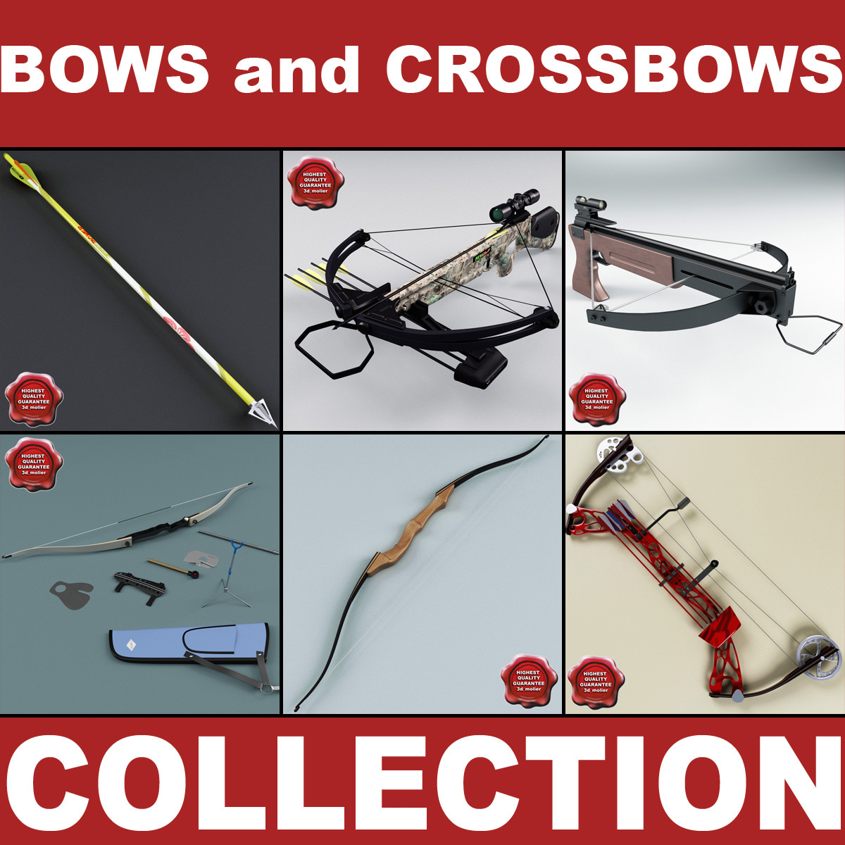 Bows and Crossbows Collection