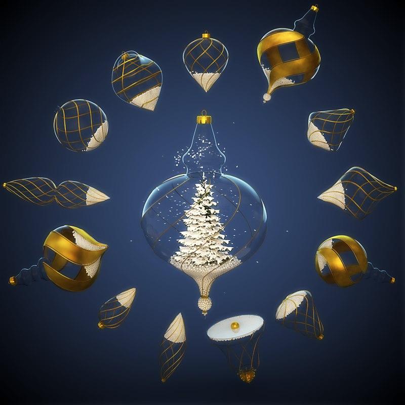 MEGA PACK SNOW Christmas Decoration