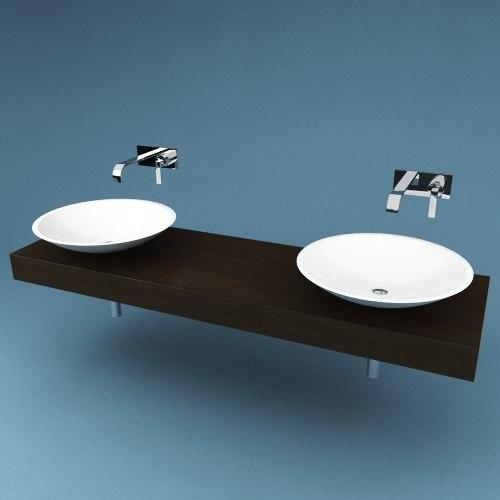 Bathroom Sink Antonio Lupi wb025 3D Models