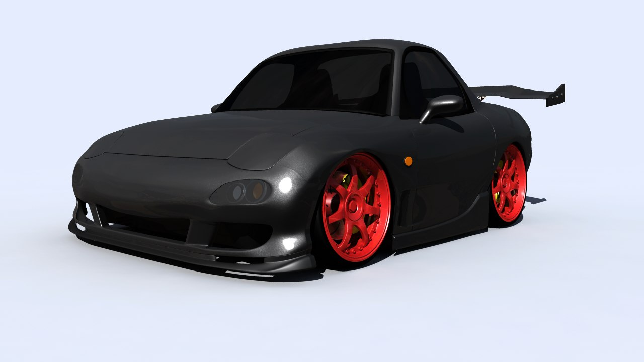 Stylised FD3s RX7