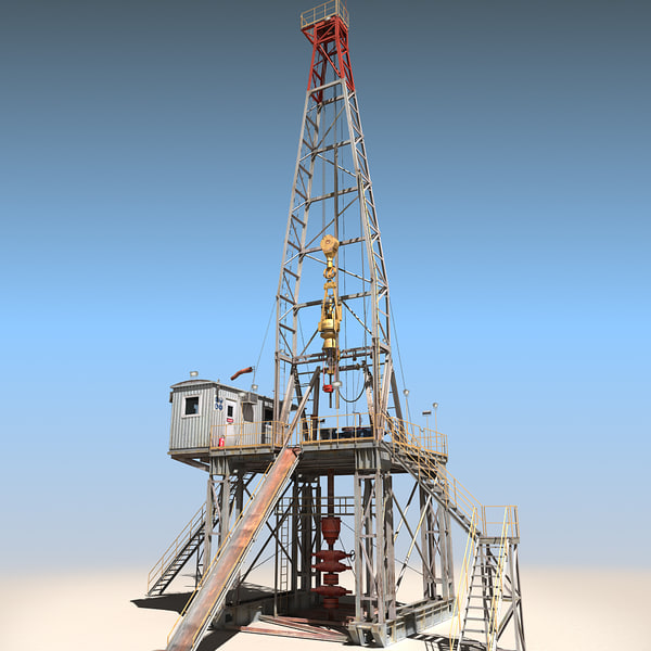 Land Rig Stock Photography