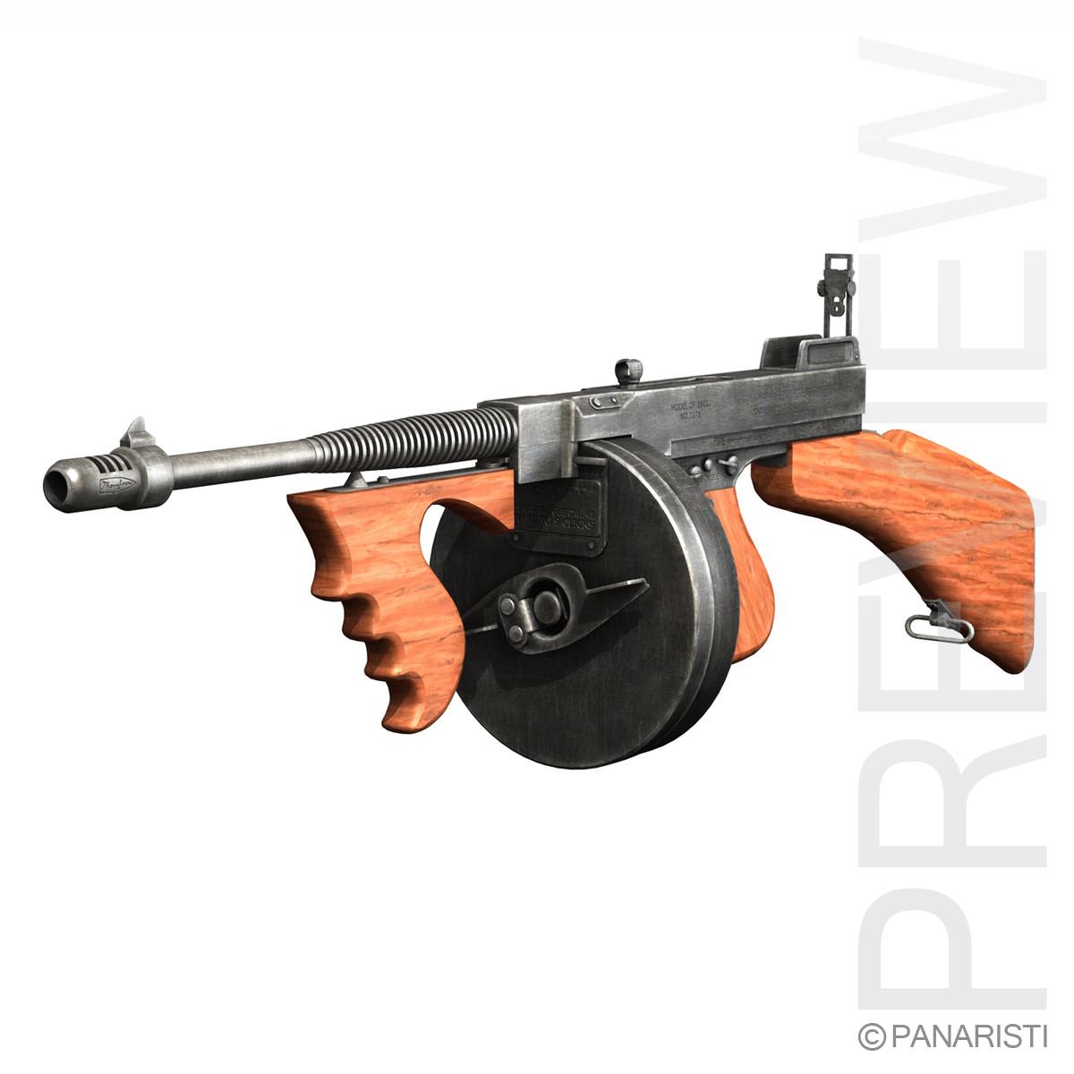 Colt Model1921 Thompson Submachine Gun