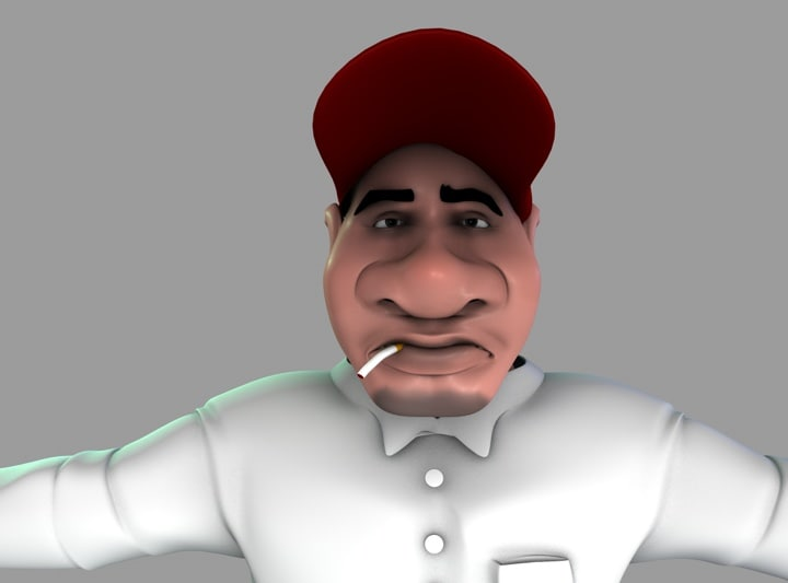 Cartoon Character (Male)(1)