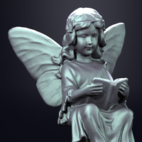Fairy Statue 3D models