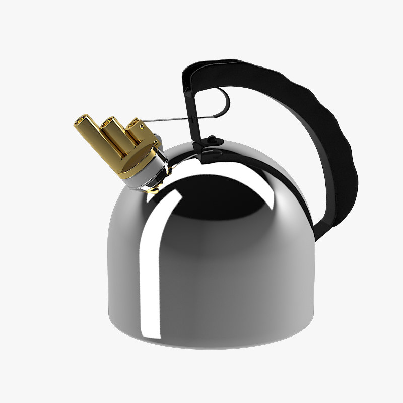 Alessi 9091 Kettle richard sapper famous historic design icon whistle melody kitchen pot designer.jpg