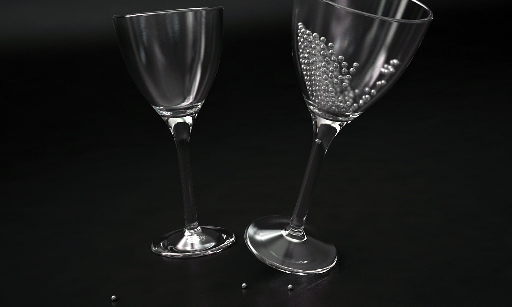 THE ARTS OF WINE GLASSES & SPHERES 2011