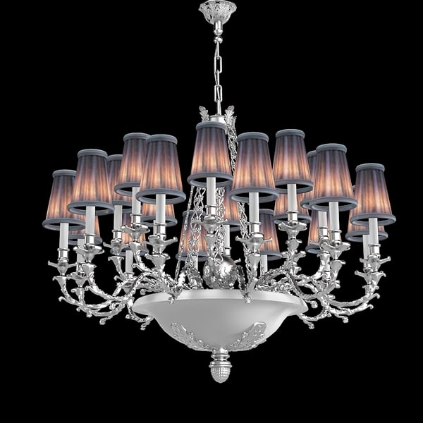 Mariner 19848 Ceiling Chandelier Lamp baroque classic big 3D Models