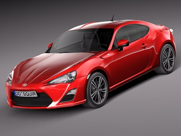 Scion FR-S 2013 3D Models
