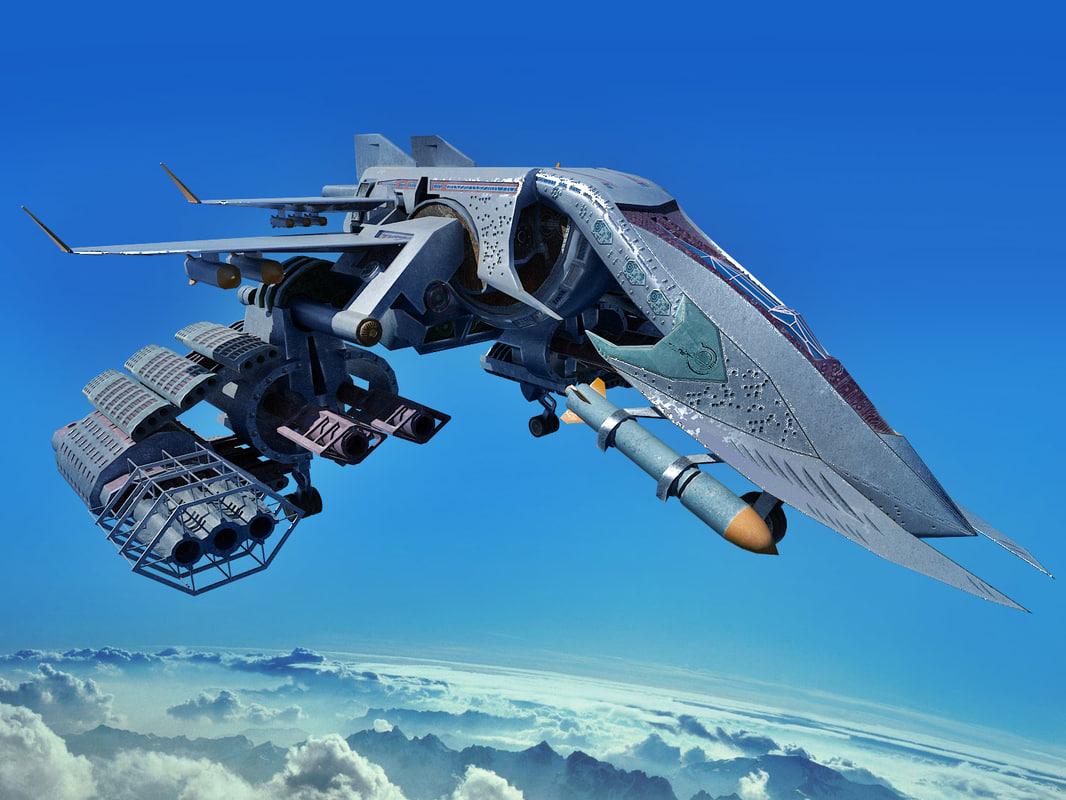 model spacecraft sci fi - photo #12