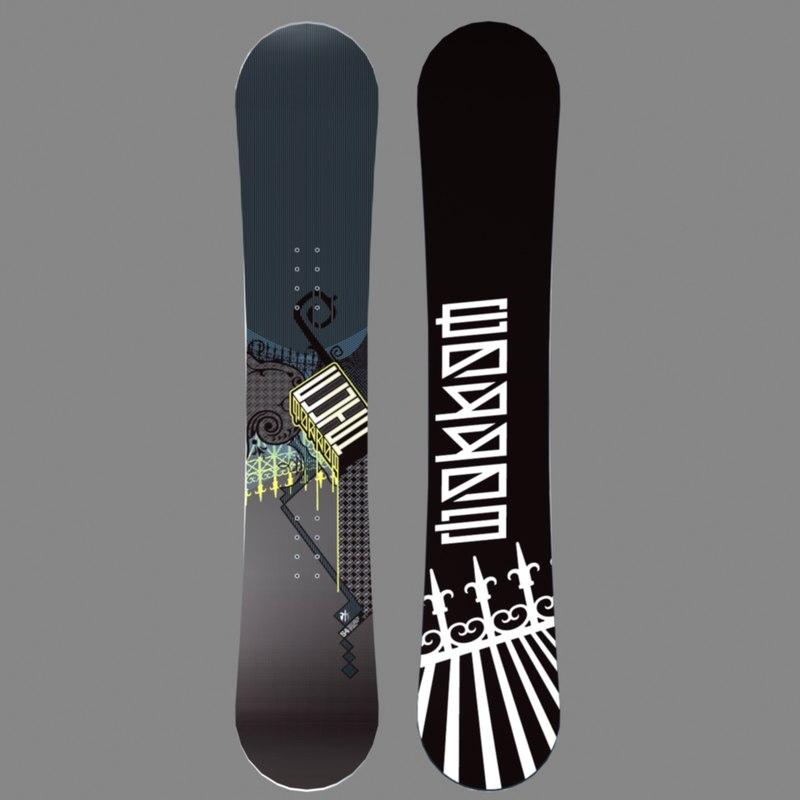 Max Morrow Clutch Snowboard