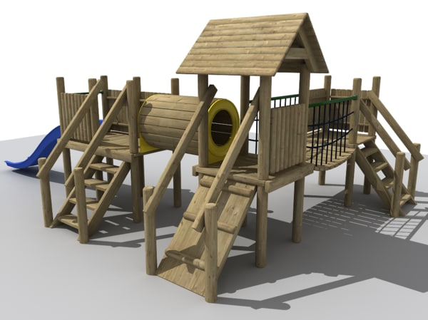 Adventure Playground 3D Models