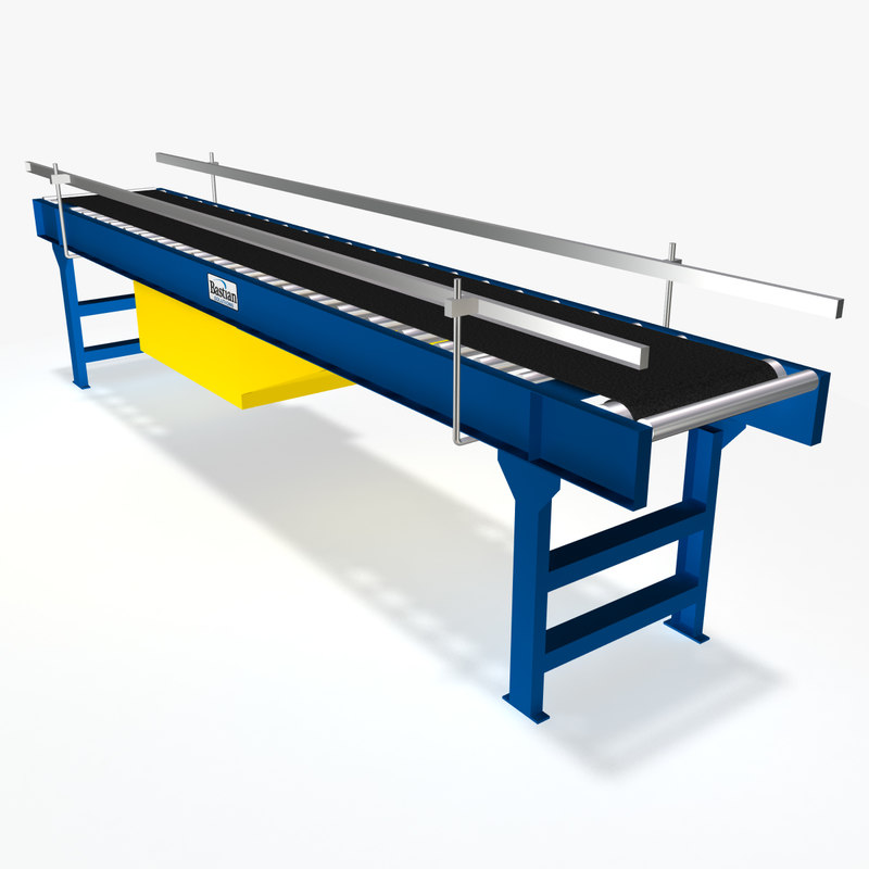 Conveyor - Belt Over Roller 12 Ft