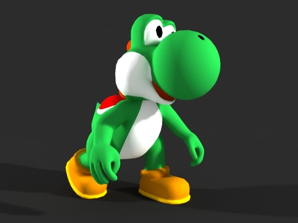 Yoshi - Video Game Character 3D Models