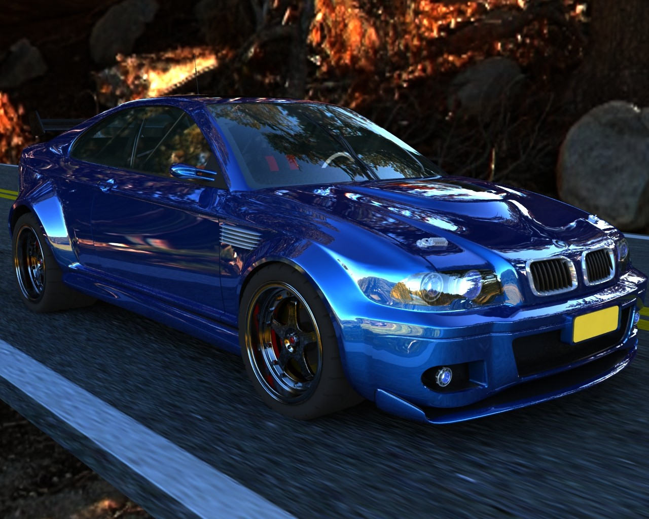 m3 vray high detailed