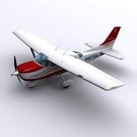 Cessna 206 3D models