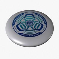 frisbee 3d models