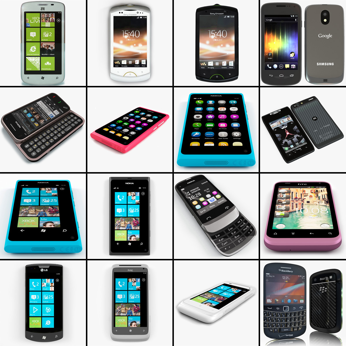 Cellphones Collection V61
