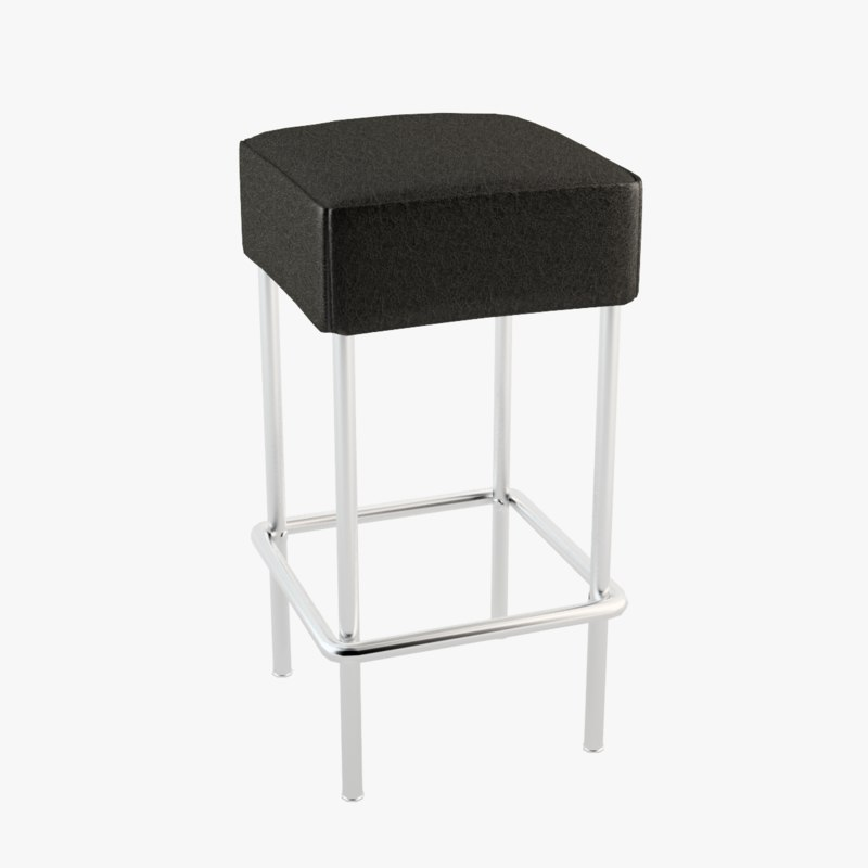 Bar stool ikea 3d max for Bar stools ikea