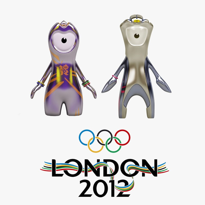 olympic mascots 2012 coloring pages - photo#34