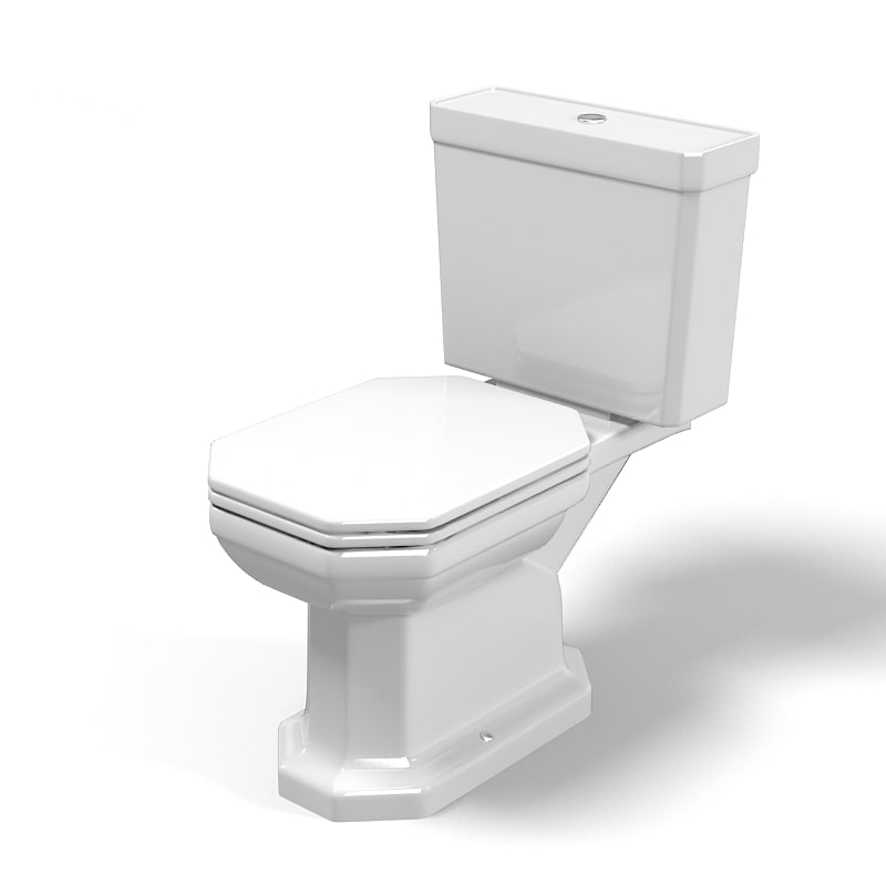 Duravit 1930 modern classic traditional wc toilet floor free standing