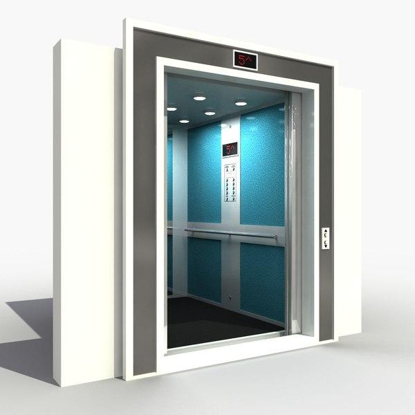Lift Interior 3D Models