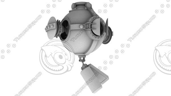 SPARO ROBO 3D Models