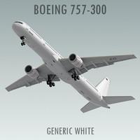 757-300 3D models