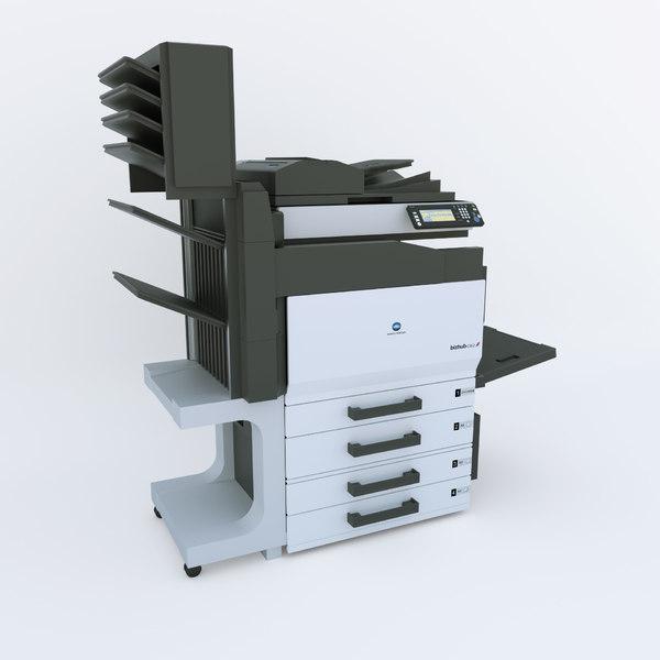 Photo Copier 3D Models