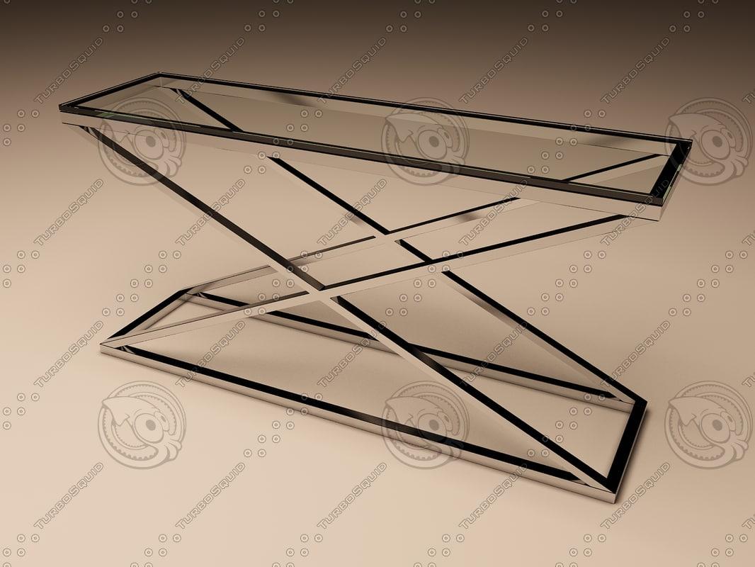 Eichholtz Table Console Criss Cross