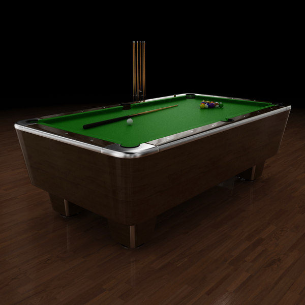 Pool Table 8ft 3D Models