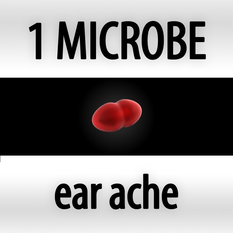 ear ache - streptococcus pneumoniae