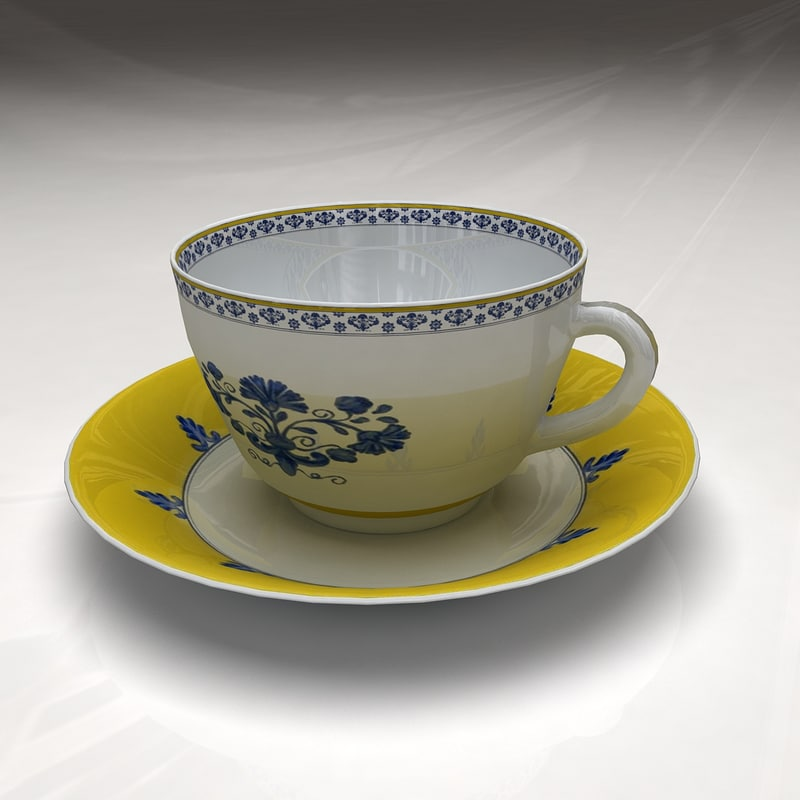 Cup and Plate Castelo Branco
