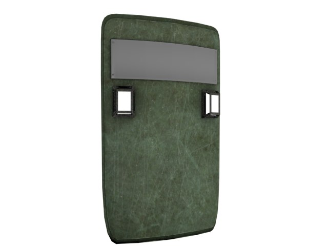 Riot Shield with Lights (2)