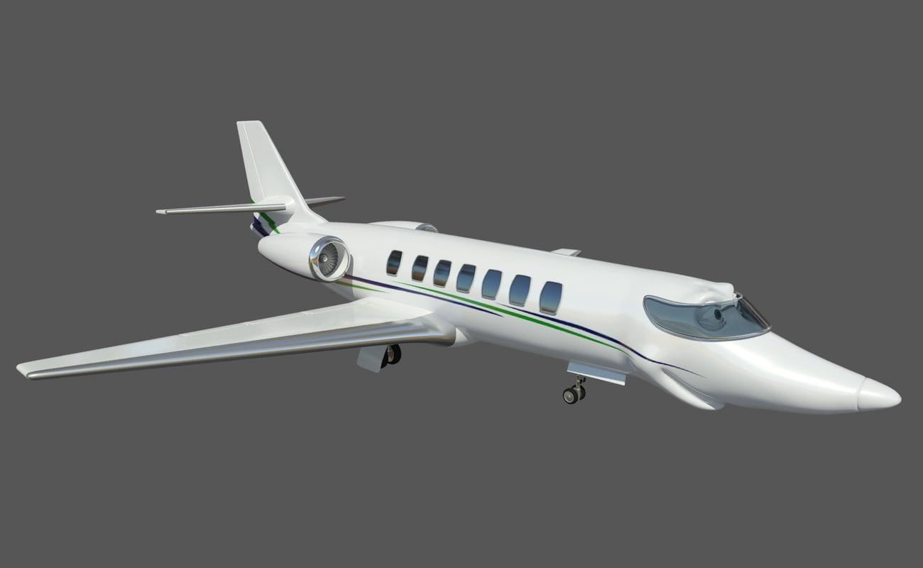 Airplane Cesna 680