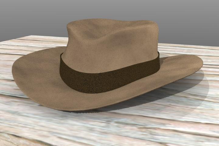 Cowboy Hat (felt)