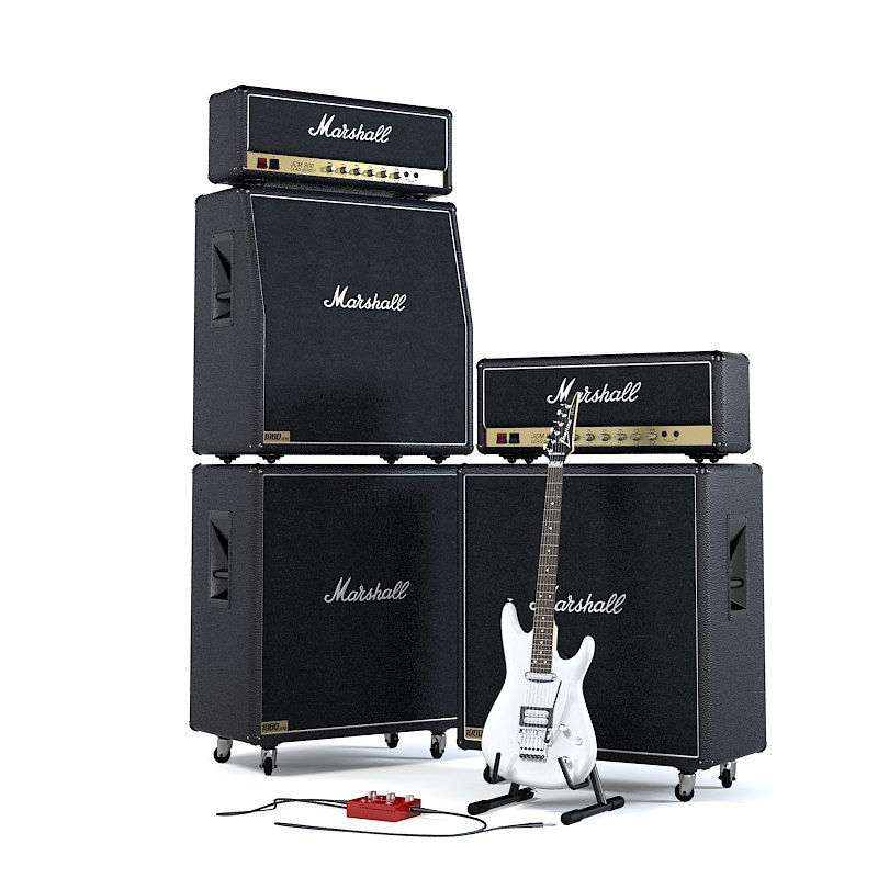 Marshall JCM 800 The Full Stack Guitar Speaker Cabinet Celestion rock stage iconic amp amplifier combo head concert audio power0001.jpg