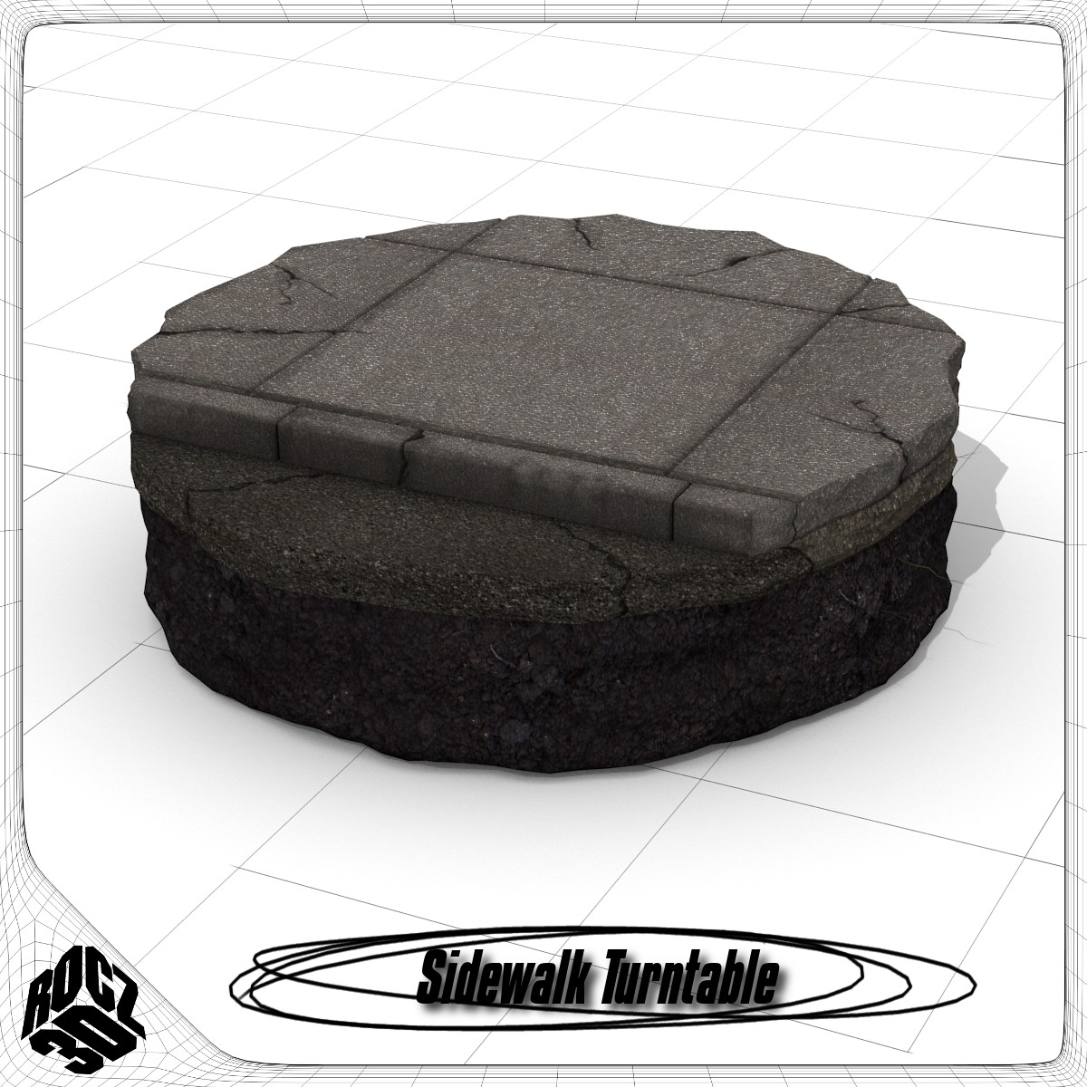 Sidewalk Turntable_3d Model_Textured.jpg