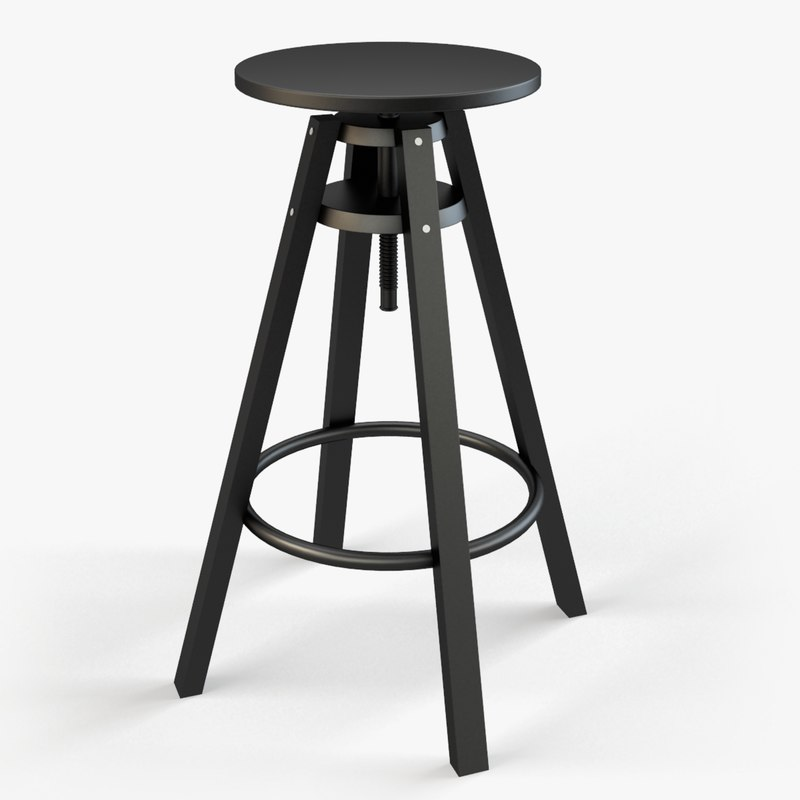 Max ikea dalfred bar stool for Bar stools ikea