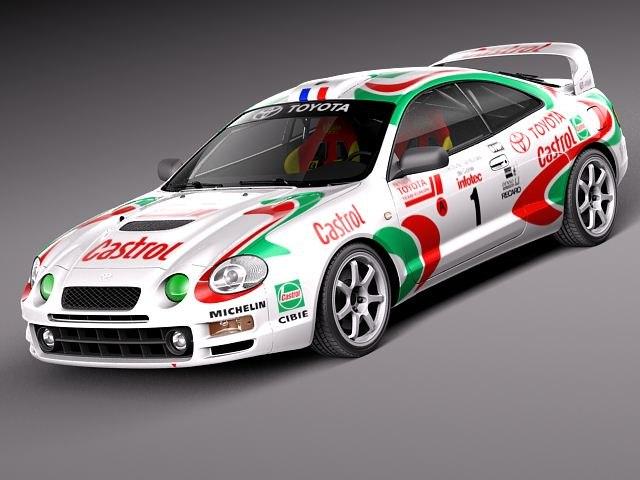 Toyota Celica GT-Four Castrol Rally