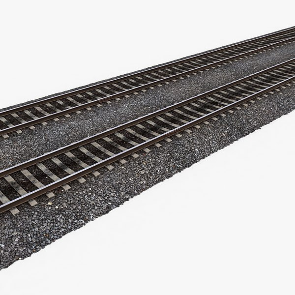 Railway Tracks 1 3D Models