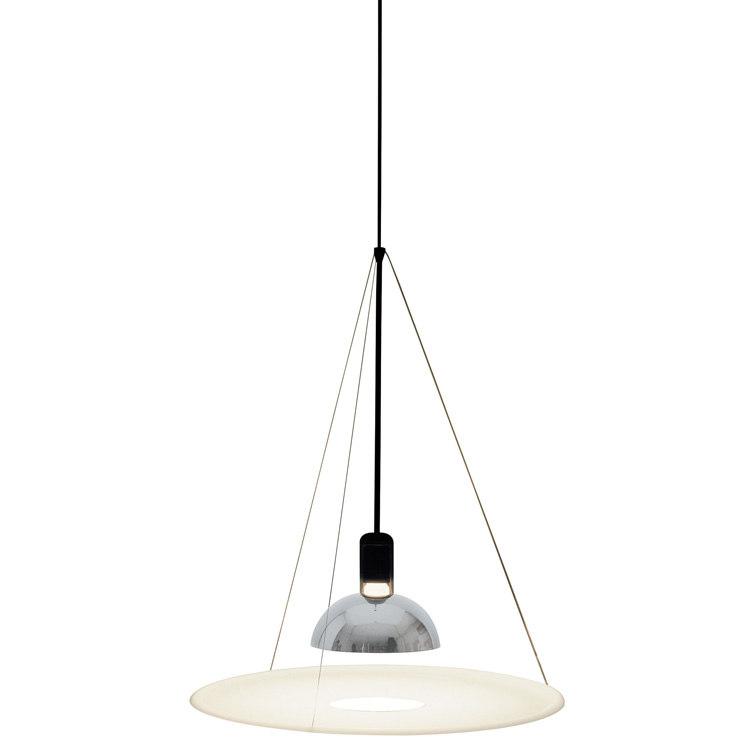lamp flos frisby 3d obj. Black Bedroom Furniture Sets. Home Design Ideas