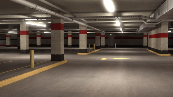 Parking Level 3D Models