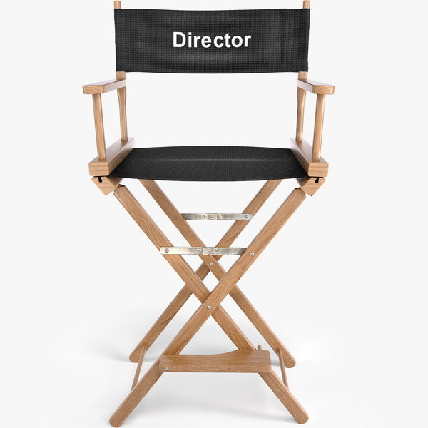 Typical Director's Chair 3D Models
