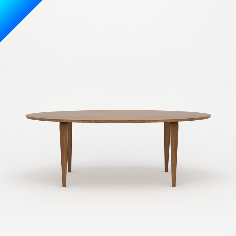 Norman Cherner Table - Oval