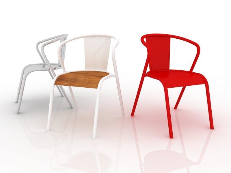 cadeira chair 3ds