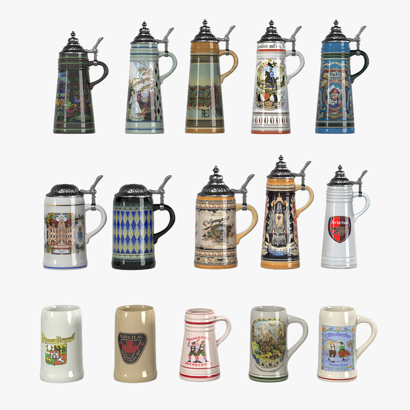 a Engraved Beer Stein Mug Big porcelain old german vintage antique cup glass tankard jar pot handle collection pub bar alcohol drink beverage bottle souvenir 0002.jpg