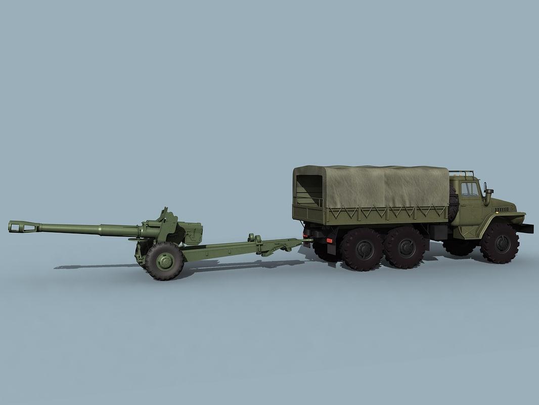 Ural-4320&D-20; combo